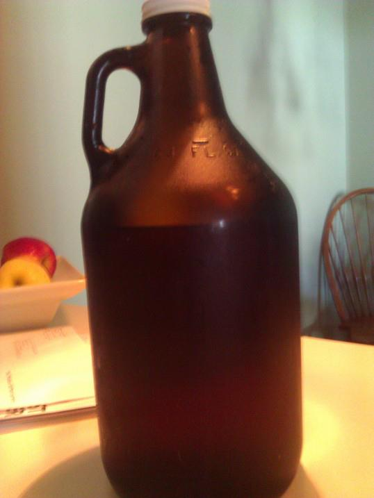 90* IPA, Dogfish Head Brewery, Milton, DE (Growler refill, Bonez Tiki, Ventnor, NJ)