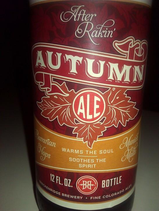 Autumn Ale (After Rakin), Breckenridge Brewery, Denver, CO