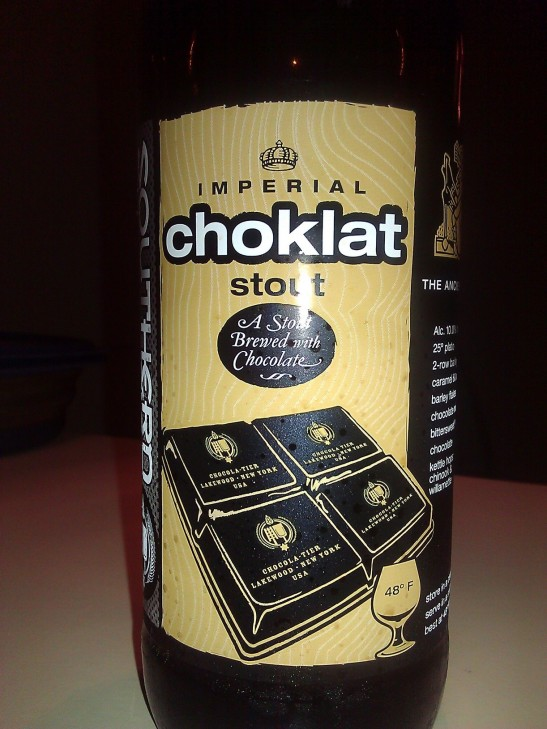 Choklat Stout, Southern Tier Brewing Company, Lake Wood, NY
