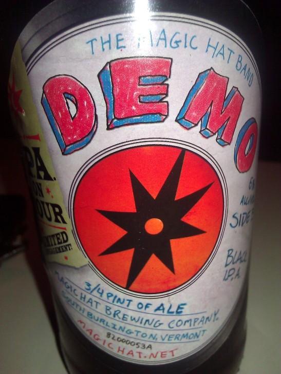 Demo Black IPA, Magic Hat Brewing Company, South Burlington, VT