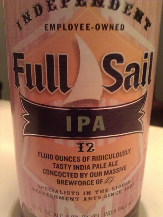 Full Sail Brewing Company, Hood River, OR