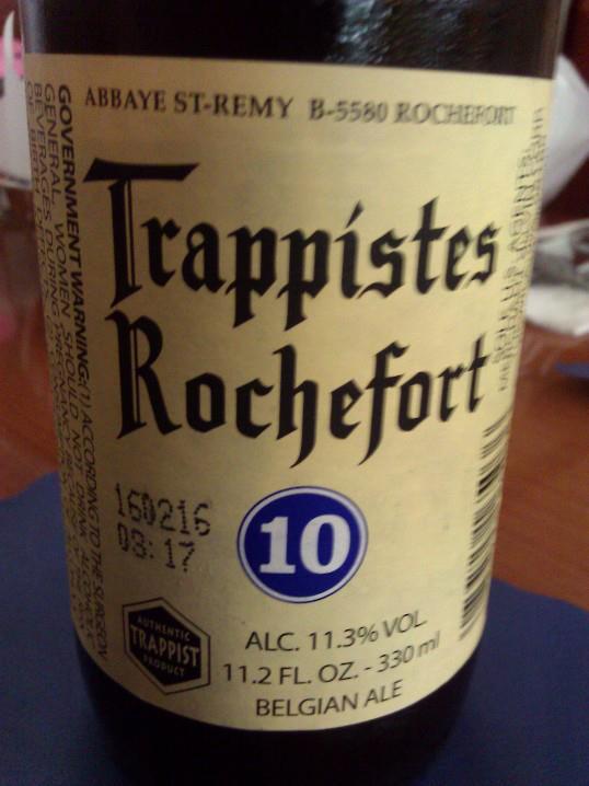 Brasserie de Rochefort, Rochefort, Belgium.