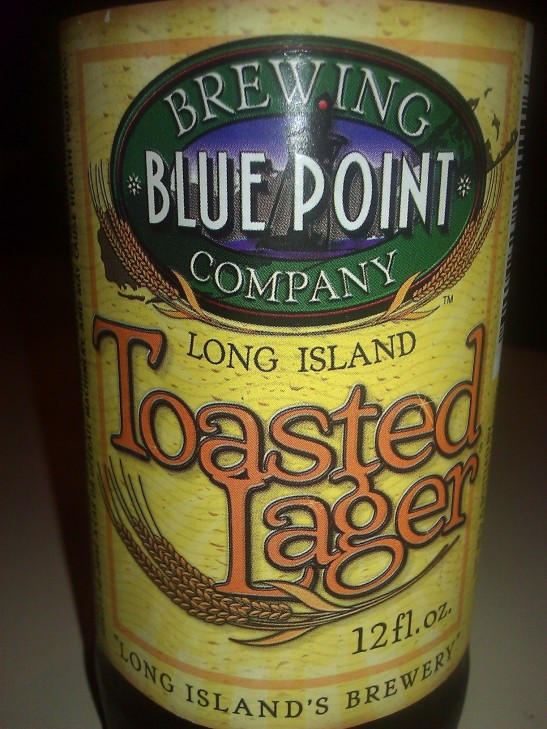 Toasted Lager, Blue Point Brewing Company, Long Island, NY