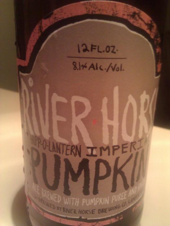 Hipp-O-Lantern; River Horse Brewing Company, Lambertville, NJ
