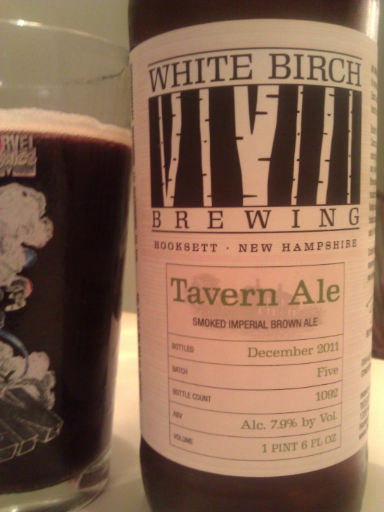 Tavern Ale; White Birch Brewing, Hooksett, NH