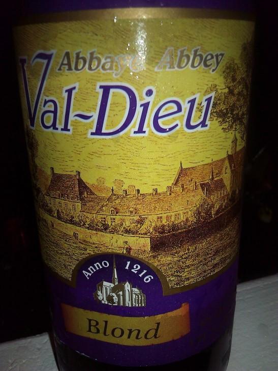 Val-Dieu Blonde; Brasserie de l'Abbaye du Val-Dieu, 225 Val-Dieu, Aubel, Belgium