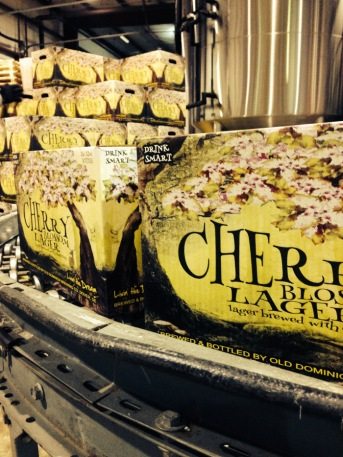 Cherry Lager packaging